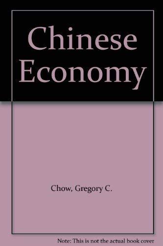 9780060412555: Chinese Economy