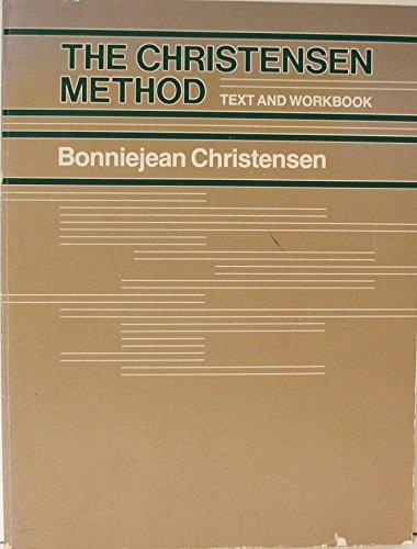 9780060412616: The Christensen method: Text and workbook