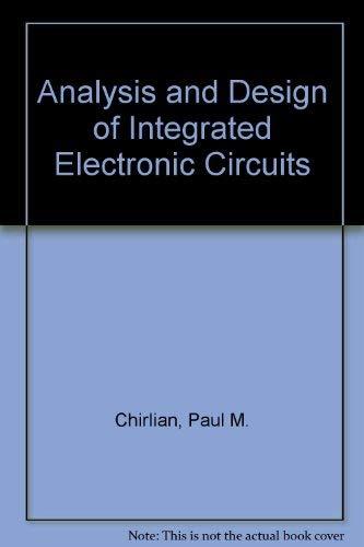 electronic circuit analysis design used abebooks