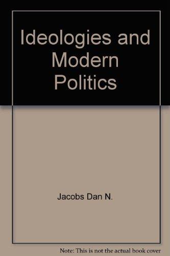 9780060412739: Ideologies and modern politics