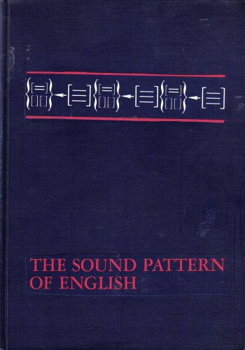 The Sound Pattern of English: Halle, Noam Chomsky