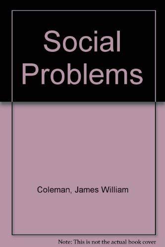 9780060413262: Social Problems