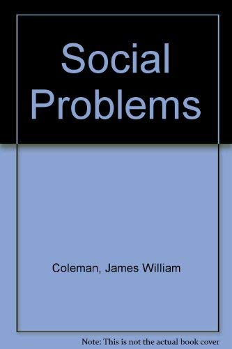 9780060413279: Social Problems