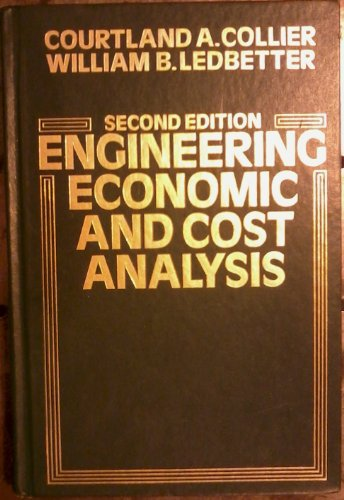 9780060413330: Engineering Economic and Cost Analysis