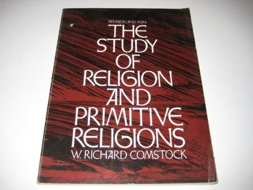 9780060413385: The Study of Religion and Primitive Religions