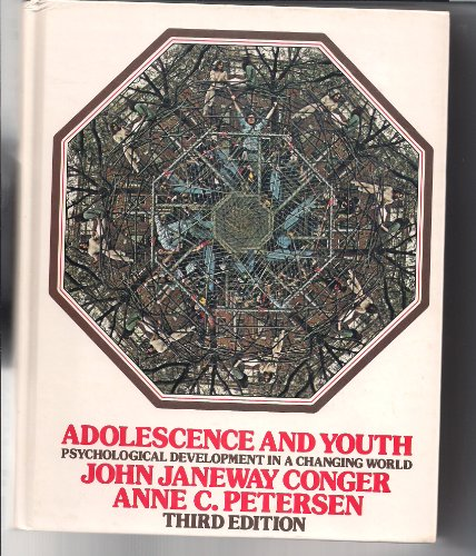 9780060413576: Adolescence and Youth: Psychological Development in a Changing World