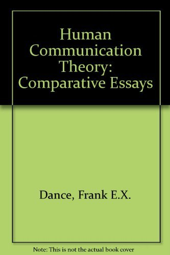 9780060414818: Human Communication Theory: Comparative Essays