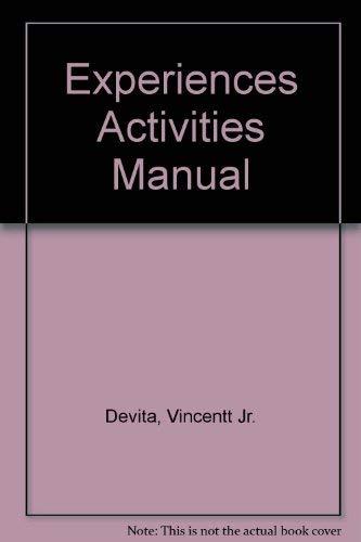 9780060416058: Experiences Activity Manual
