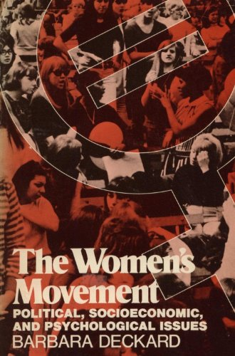9780060416119: Women's Movement: Political, Socioeconomic and Psychological Issues