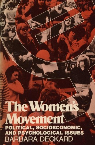 9780060416119: The Women's Movement: Political, Socioeconomic and Psychological Issues