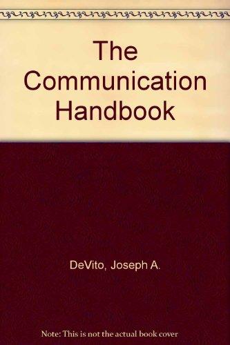 9780060416386: The Communication Handbook: A Dictionary
