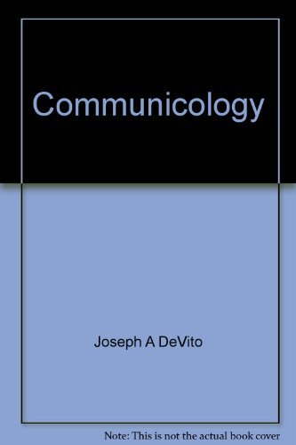 9780060416522: Communicology: An introduction to the study of communication