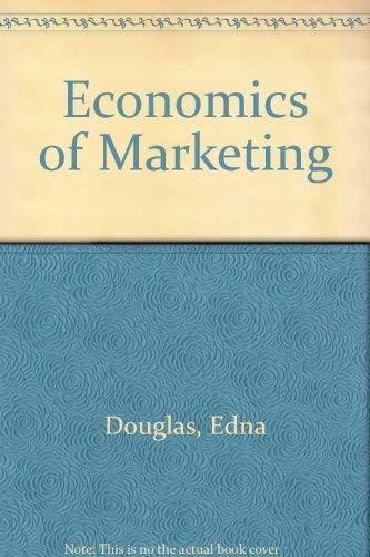 9780060416959: Economics of Marketing