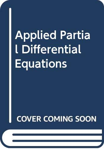 9780060417727: Applied Partial Differential Equations