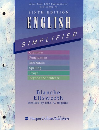 9780060418977: English Simplified 6e Pb