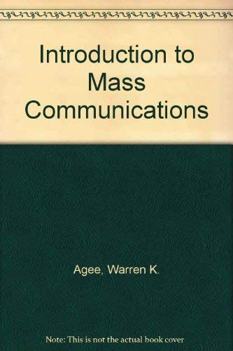 9780060419097: Introduction to Mass Communications