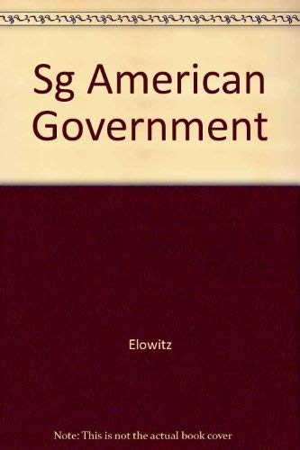 9780060419158: Sg American Government