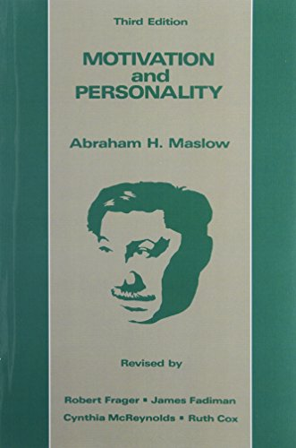 9780060419875: Motivation and Personality, 3rd Edition
