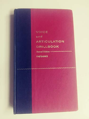 9780060419905: Voice and Articulation Drillbook
