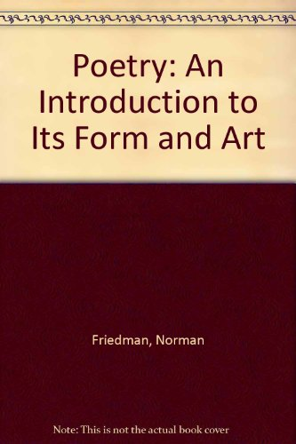9780060422004: Poetry: An Introduction to Its Form and Art