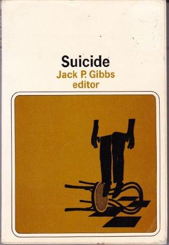 9780060423216: Suicide