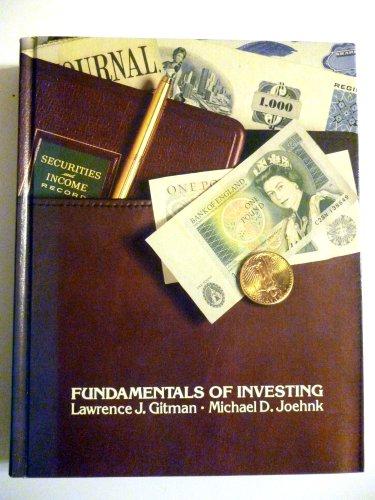 9780060423544: Fundamentl Investng-Loma Ed