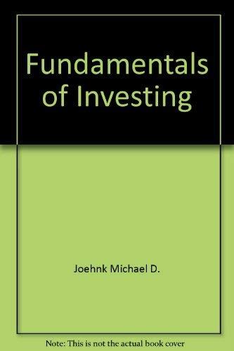 9780060423551: Fundamentals of investing