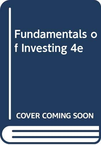 9780060423629: Fundamentals of Investing 4e