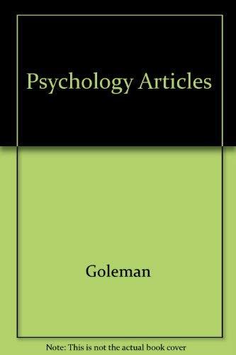 9780060423759: Psychology Updates