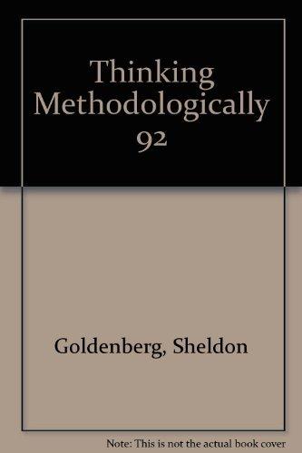 9780060423827: Thinking Methodologically (Harper's American Political Behavior Series)