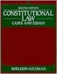 9780060423964: Constitutional Law:Cases and Essays