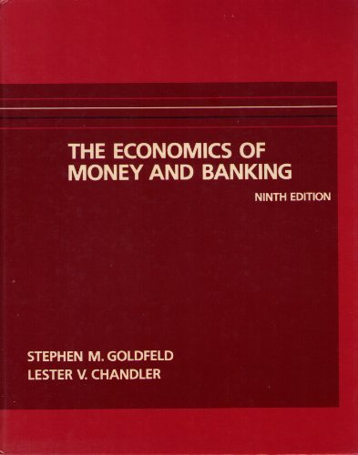 9780060424060: The Economics of Money and Banking
