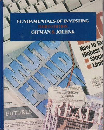 9780060424114: Fundamentals of Investing