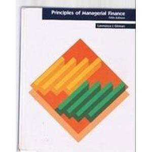 9780060424121: Principles of Managerial Finance