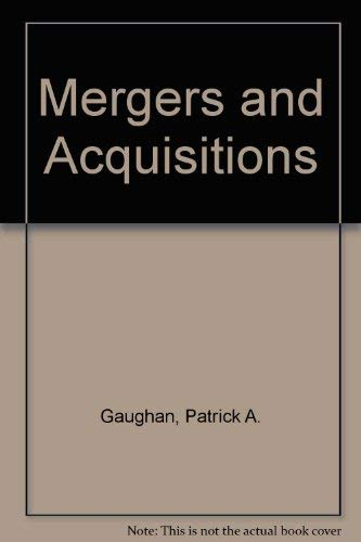 9780060424527: Mergers and Acquisitions