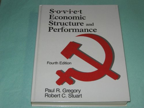 9780060425067: Soviet Economic Structure and Performance