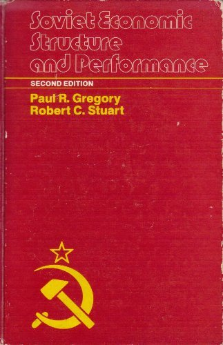 9780060425081: Soviet economic structure and performance