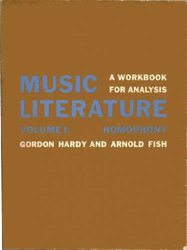 9780060426330: DM Music Literature Vol 1 PB