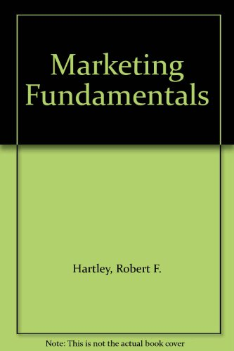 9780060426750: Marketing Fundamentals
