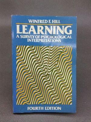 9780060428181: Learning: A Survey of Psychological Interpretations