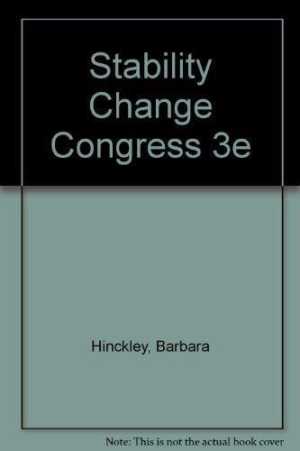 9780060428495: Stability Change Congress 3e