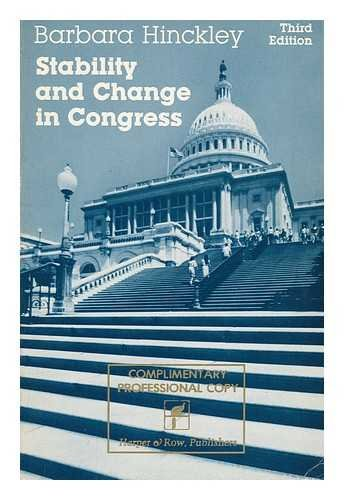9780060428525: Stability and Change in Congress