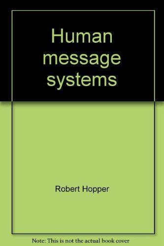 9780060429027: Human message systems