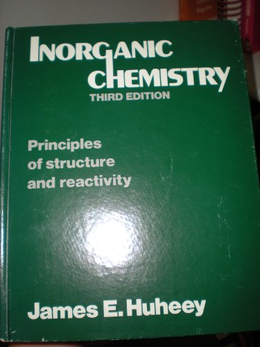 9780060429874: Inorganic Chemistry: Principles of Structure and Reactivity