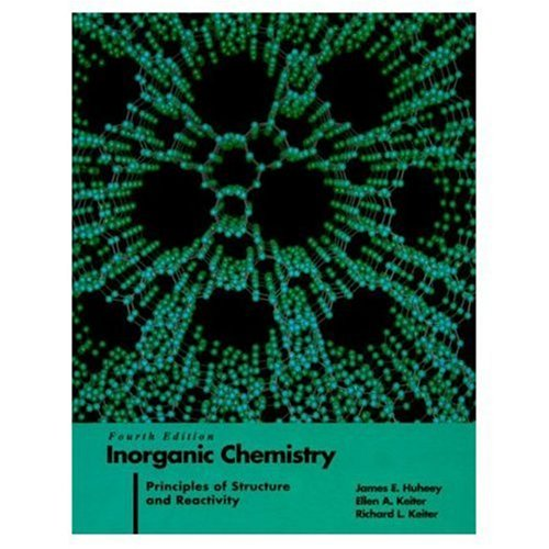9780060429959: Inorganic Chemistry: Principles of Structure and Reactivity (4th Edition)