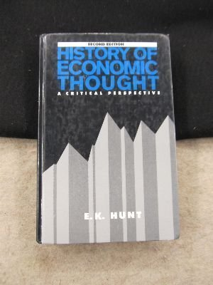 9780060430078: History of Economic Thought: A Critical Perspective