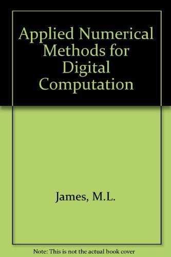 9780060432812: Applied Numerical Methods for Digital Computation