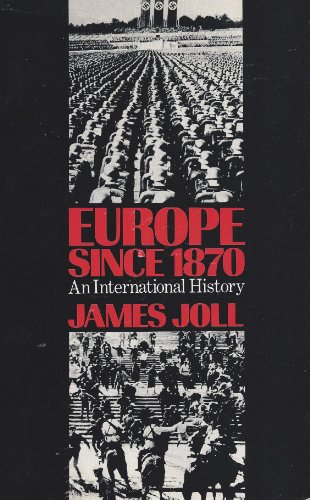 9780060434151: Europe Since 1870: An International History