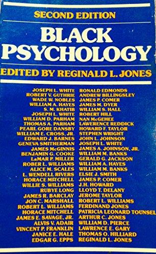 9780060434359: Black Psychology