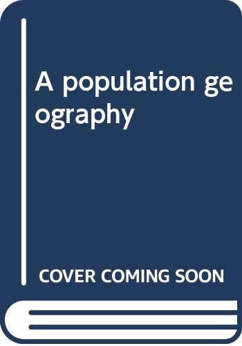 9780060434434: A population geography